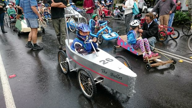 The first Jacaranda Festival Billy Cart Derby is on this Saturday.