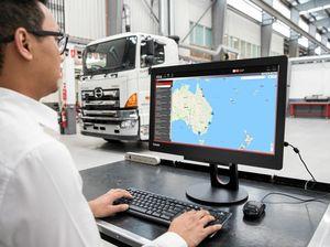 Hino Australia debuts Traq telematics