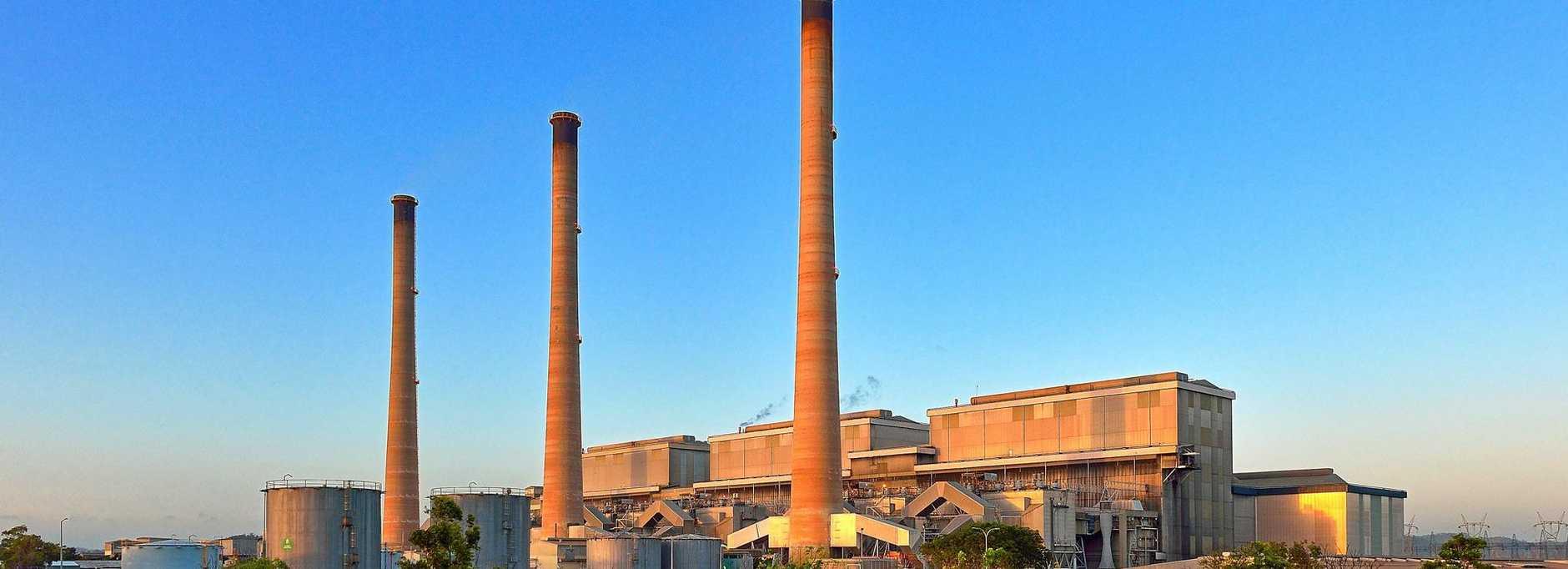 NRG Gladstone Power Station.  Photo Mike Richards / The Observer