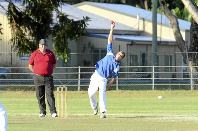 TOP TURNER: Lower Clarence legspinner Jacob McMahon will be looking to do the Old Boys a wrongun'.