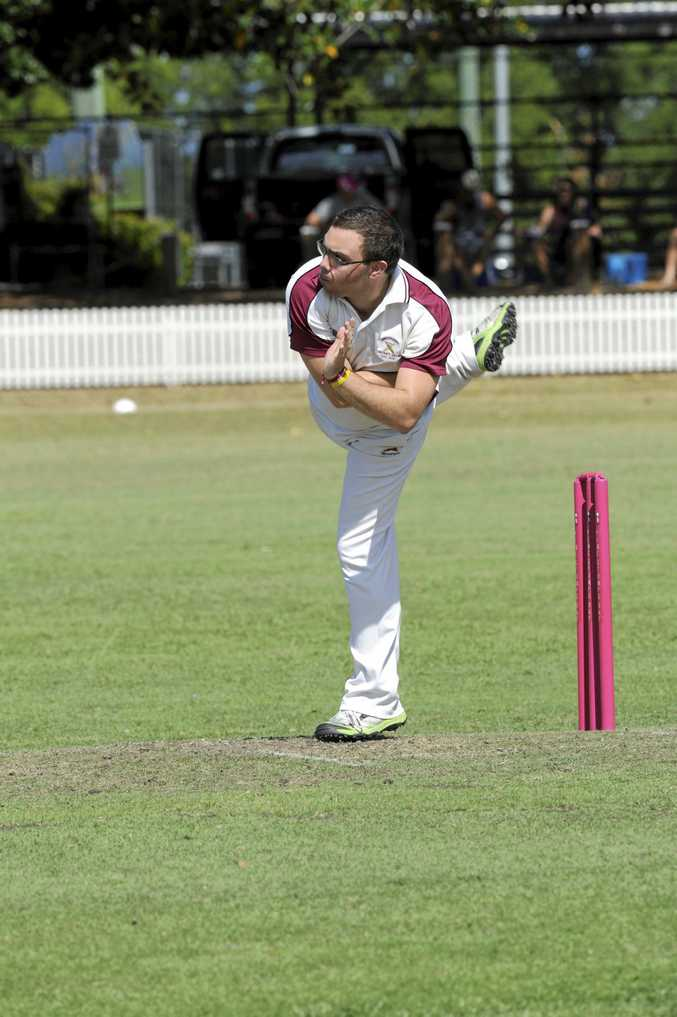 CONFIDENCE IS KEY: Brothers' offspin bowler and birthday boy Andy Kinnane will be looking to add to his birthday presents with key scalps today.
