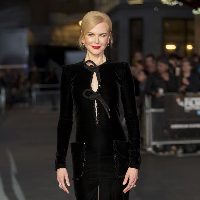 Actress Nicole Kidman.