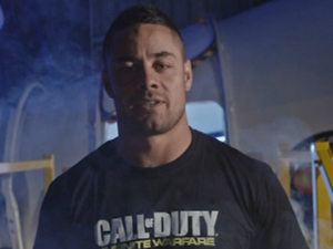 Jarryd Hayne in Training for Space