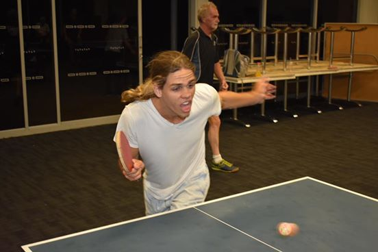 Dave Tutt put in a huge ping pong effort in Nambour.