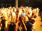 The crowd cheers for an encore at the opening night of the Airlie Beach Festival of Music.