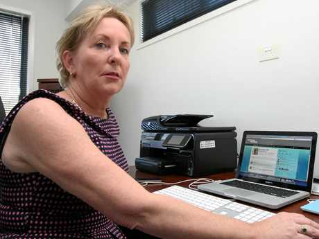 Queensland MP Ros Bates in her office.