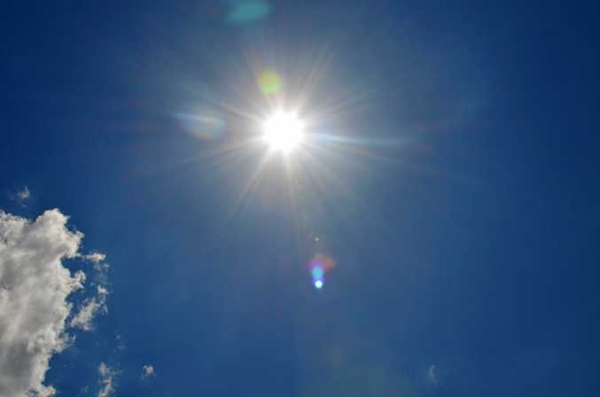 Blazing heat is expected to continue across the Southern Downs into the New Year.  Photo: Jayden Brown/Warwick Daily News