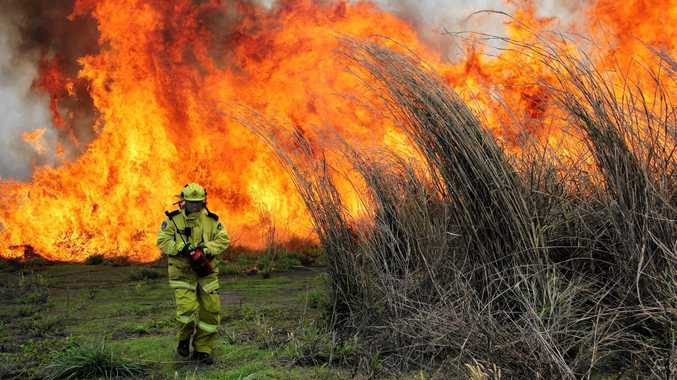 The South East Coast has been put on a very high fire alert.
