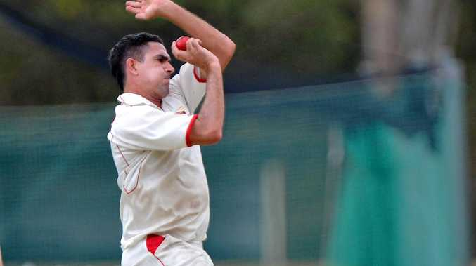 IN FORM: Sunshine Coast Scorchers bowler Ashley Renouf in a previous outing.