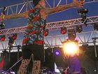 Andrew Pattinson snaps one of Tiki Taane on the main stage.