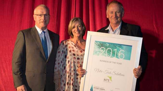 The Sunshine Coast Business of the Year Award for Business of the Year is Nutri-Tech Solutions. Awards winners were announced at a ceremony at Novotel Twin Waters on Saturday, November 5, 2016.