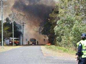 Fire at Dundathu