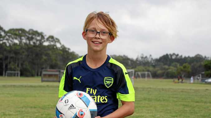 RISING STAR: Oscar McComisky is tipped by his coach to have the potential of an elite player.