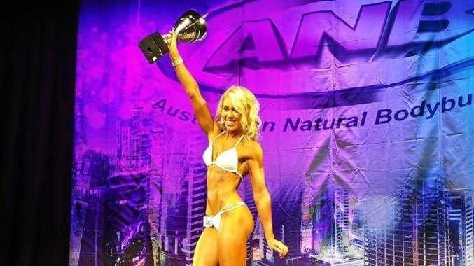 MS FITNESS MODEL: Olivia Crispin is set to compete  in Toronto next week.