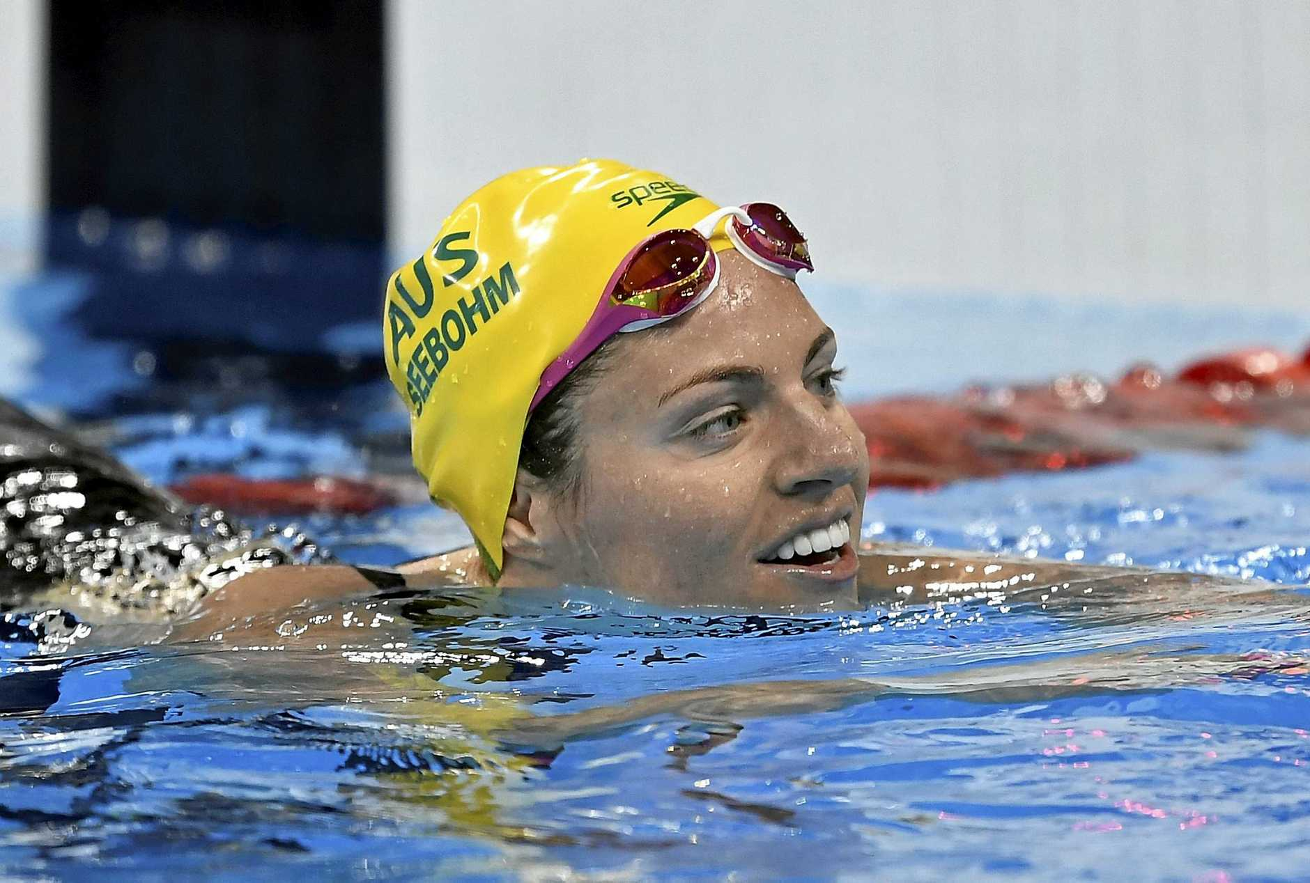 Australia's Emily Seebohm won seven individual events at the Australian short-course championships.