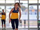 TRAINING HARD: Cara Koenen and her Lightning team-mates have started their pre-season.