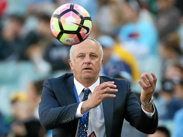 ON THE BALL: Sydney FC coach Graham Arnold has led his side to five straight wins to start the A-League season.