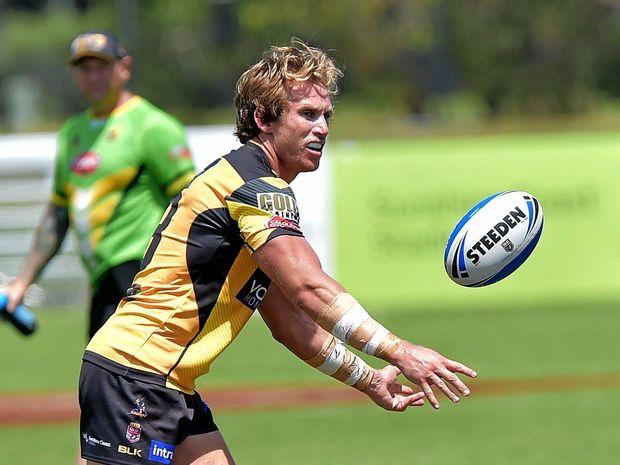 SET TO STAY: Sunshine Coast Falcons captain Troy Giess.