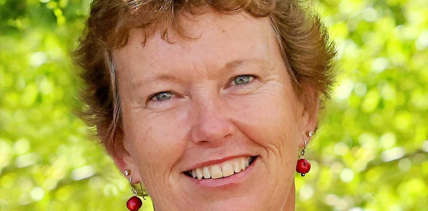 Christine Greiner before brain cancer.