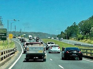 Truck crash source of delays on Bruce Hwy