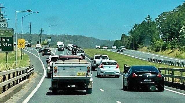 EXPECT DELAYS: Ongoing clean-up from a single-vehicle truck crash has caused today's delays along the Bruce Hwy.