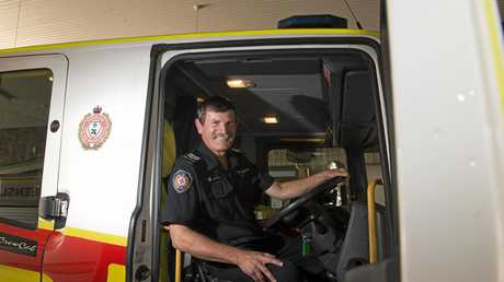 RETIREMENT AHEAD: Fire fighter Lester Naumann will miss working for the Queensland Fire and Emergency Services after more than four decades in the job.
