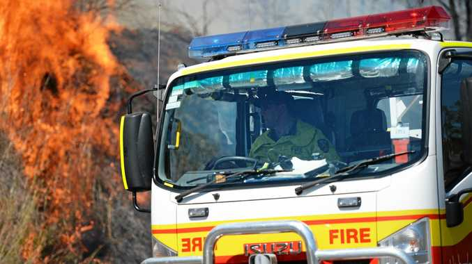 Fire crews are continuing to battle two blazes near Nambour.