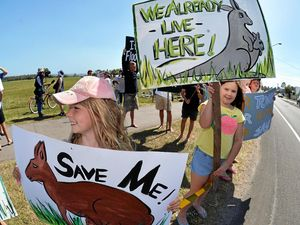 Residents rally against Twin Waters West proposals