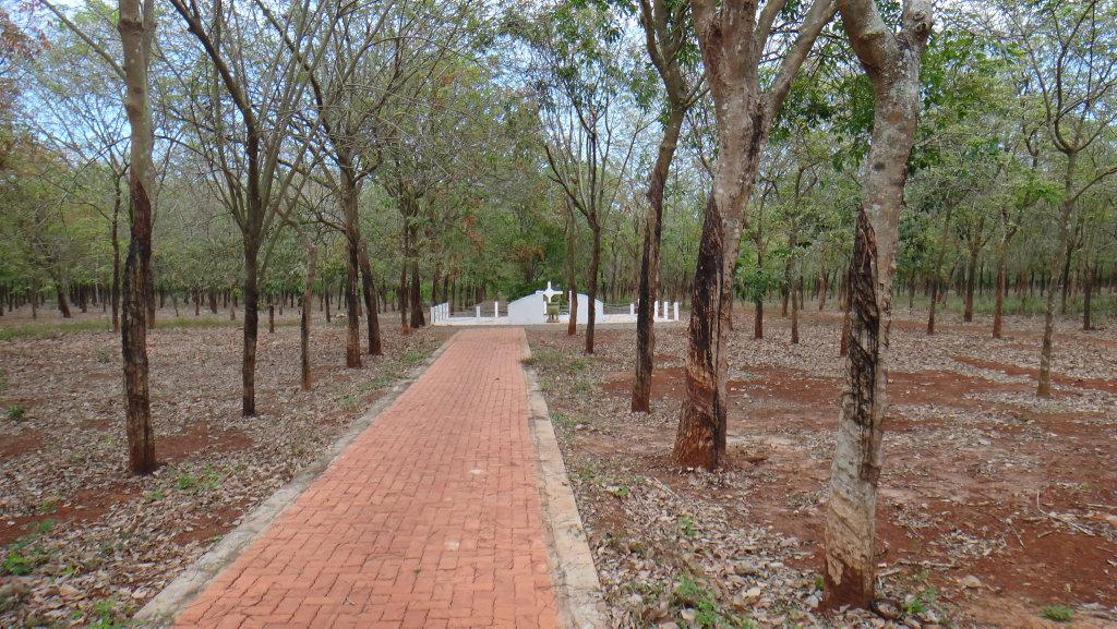 The memorial at Long Tan. Photo: David Frazer