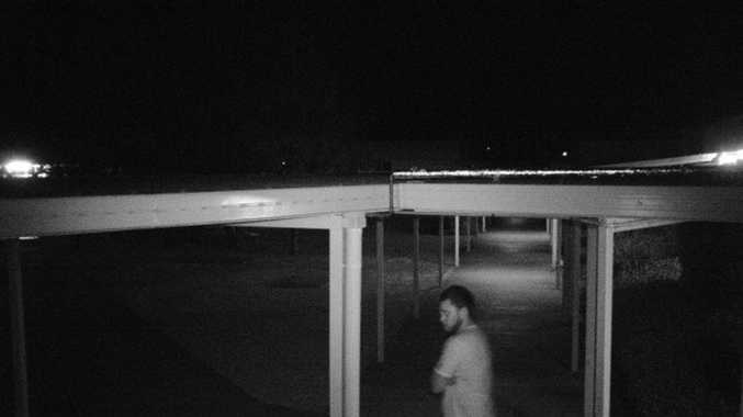 Oakey police believe this man can assist their investigations into recent wilful damage offences.