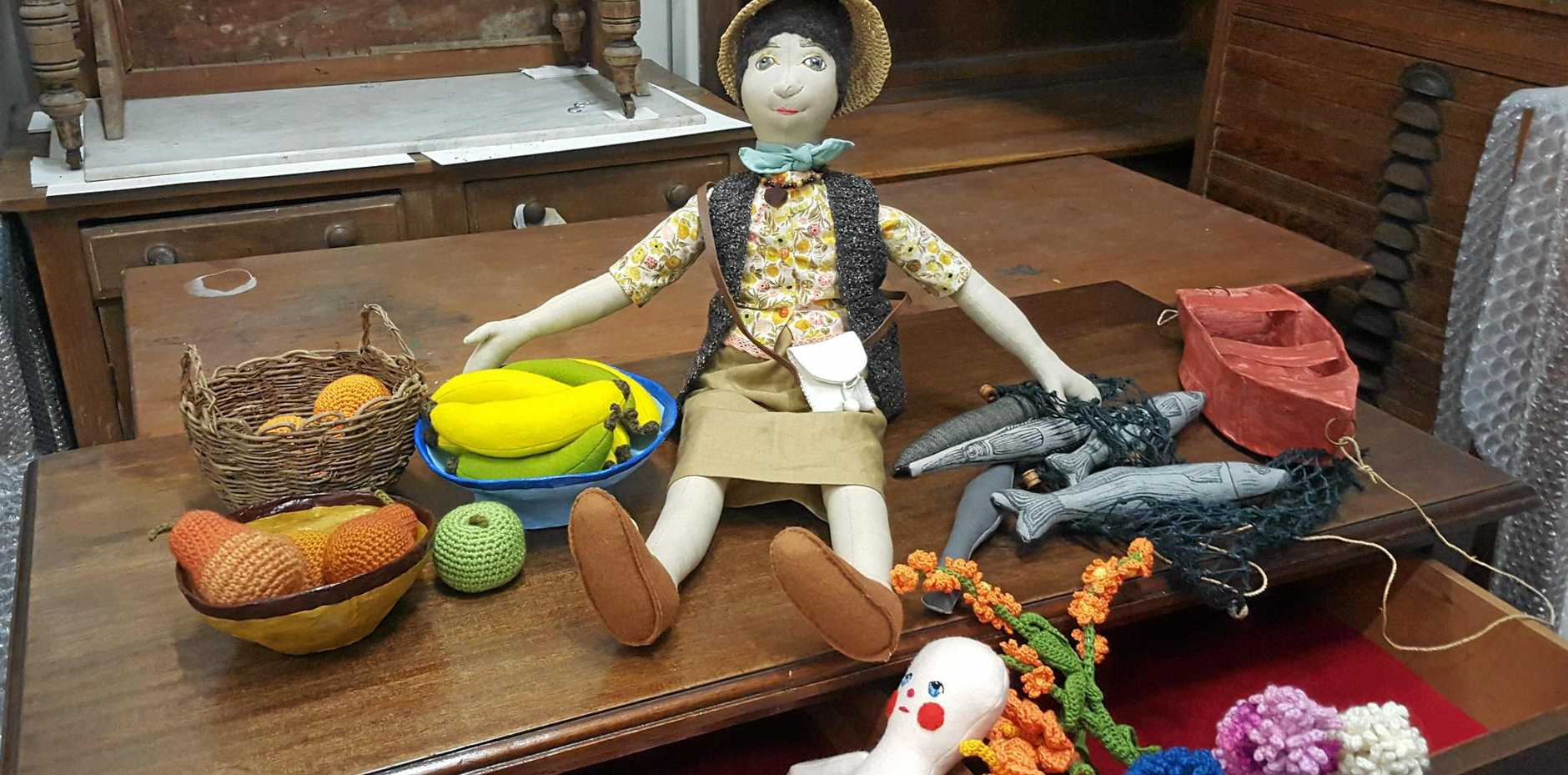 Toys made by Helle Jorgensen.