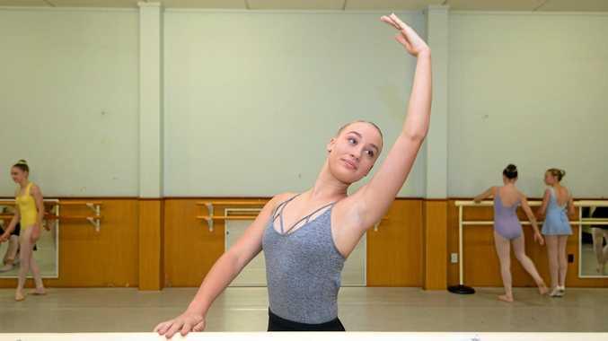 Taliah Edwards at Beverley Prange Dance Centre in Rockhampton.