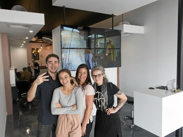 Hairdresser 39 s cbd lab vision now open for business chronicle for A b mackie salon