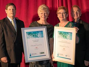 Volunteer-led charity recognised for business acumen