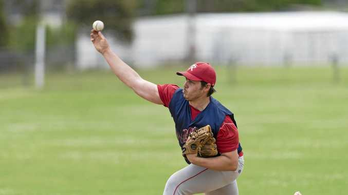 Toowoomba Rangers pitcher Sam McNeice threw 73 balls in their dominant 20-1 win against Royals this weekend.