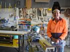 LIFE AFTER WORK: Darryl Rank has found an outlet at the Warwick Men's Shed.