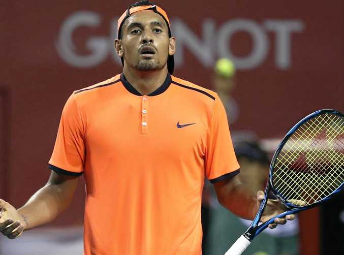 Nick Kyrgios has completed his ban.