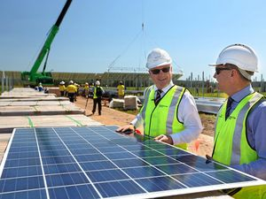 $50m solar farm site remains closed after asbestos scare