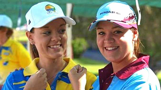Sisters Bolivia and Cassandra Millerick are both aiming to make the 2018 Commonwealth Games team for lawn bowls.