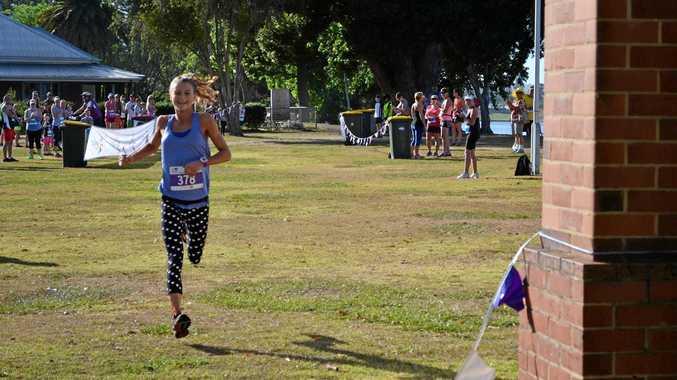 BLITZED: Celia Sullohern was the overall winner of the 2016 Jacaranda 10km Fun Run in 36:05.