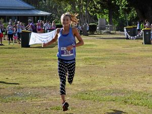 Sullohern blitzes newlook Jacaranda Fun Run course