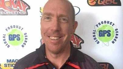 Mackay Meteorettes's new head coach, Carl Teske.