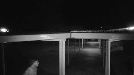 Police have released CCTV images of a man they believe can assist with investigations into recent wilful damage offences at Oakey State School.