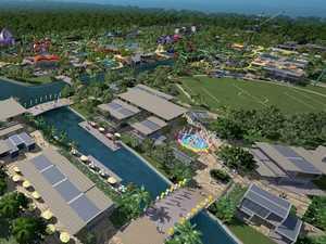 Fly over Sanad's Sunshine Coast Actve Park