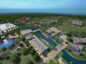 Luxury hotel expands $400m water park development