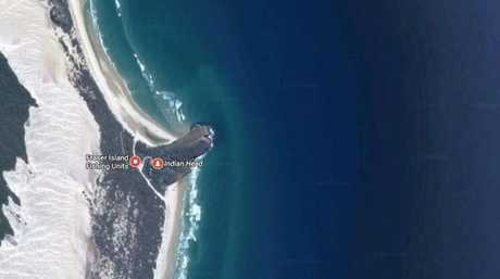RESCUE: A search and rescue operation is ongoing for a man missing about 8km out from Indian Head, Fraser Island.