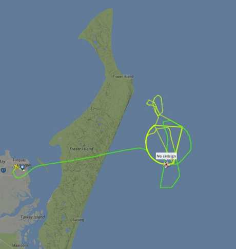 AMSA's Dornier 328-110 rescue plane is widening its search for a fisher missing from a trawler in open waters near Indian Head.