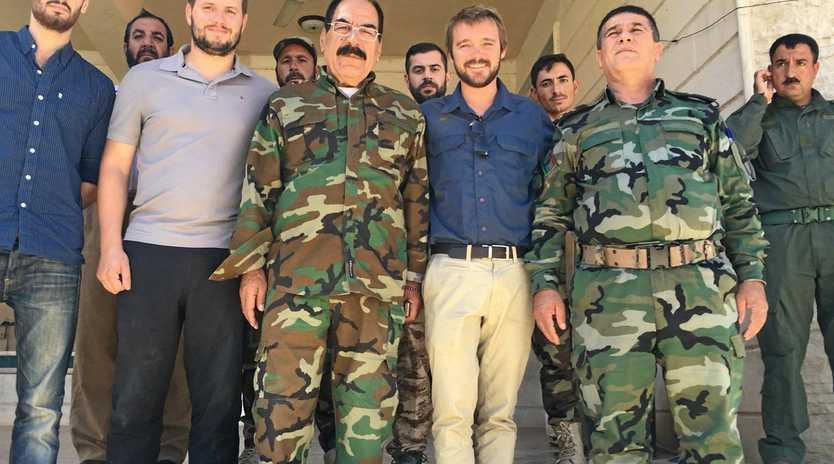 Former Longman MP Wyatt Roy in Iraq.