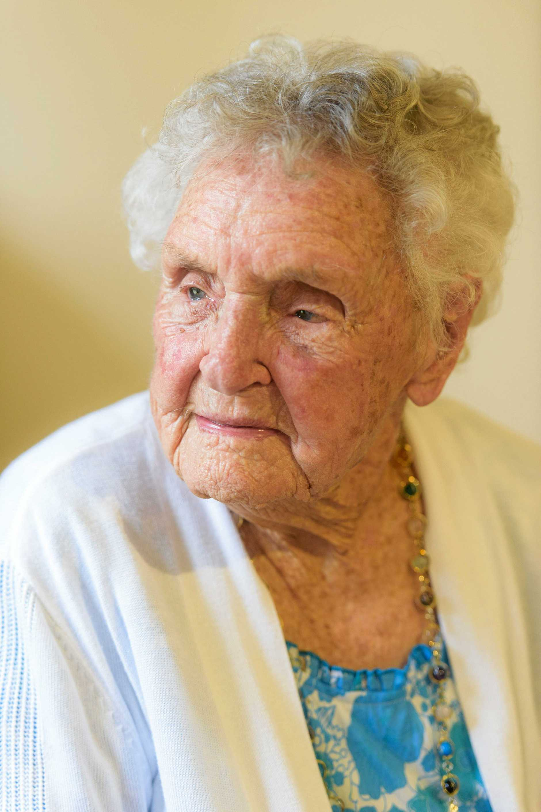 Elsie Hale who lives at Dougherty Villa turns 101 on Wednesday.