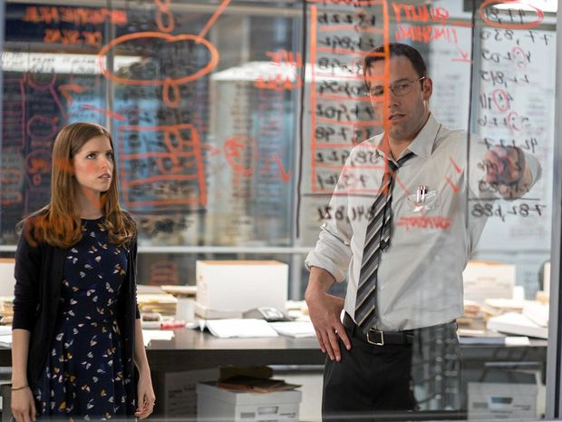 MAGIC IN THE NUMBERS: Ben Affleck and Anna Kendrick in a scene from the movie The Accountant.